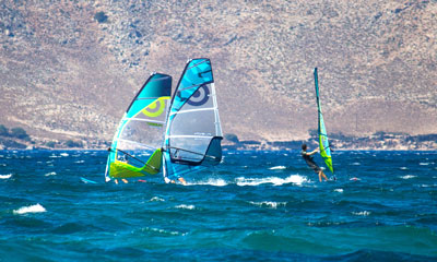 The best spot for Windsurfing on the island Kos | Marmari
