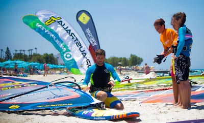 Windsurf Camps Andraz Zan